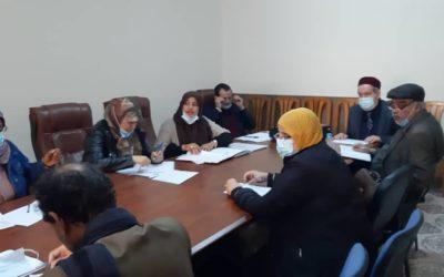 اجتماع لجنة الدراسات العليا بكلية الآداب