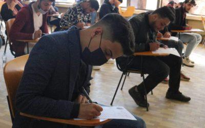 الامتحان التحريري للطلبة المنسبين  لكلية القانون جامعة بنغازي