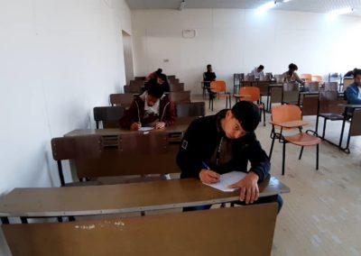 الامتحانات النهائيّة بكليّة التربية البدنيّة