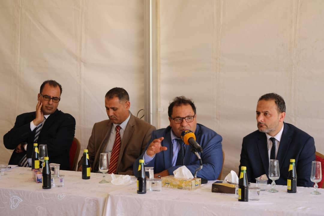 وزير التعليم العالي في حكومة الوحدة الوطنية يزور جامعة بنغازي