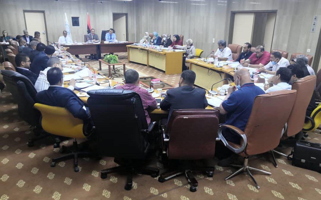 اجتماع مجلس الجامعة العادي الثاني لعام 2021م