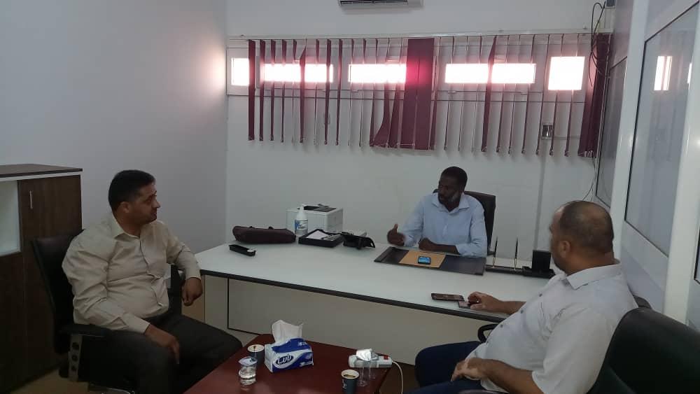 الغيثي وعيسى واجتماع موحد لإدارة المركزين