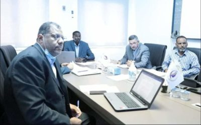مدير المعلومات يلتقي اللجنة المكلفة بالربط الشبكي